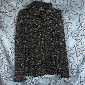BCBGMaxAzria knitted hooded Cardigan.